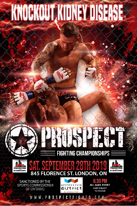 Knockout Kidney Disease: Prospect  Fighting Championships